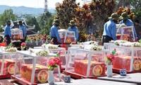 Lễ viếng, truy điệu và an táng hài cốt liệt sỹ hy sinh tại Lào và Campuchia