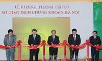 Upacara peresmian Kantor  Bursa Efek Hanoi