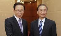Tiongkok-Republik Korea  mempersiapkan perundingan FTA.