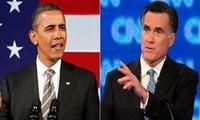 Presiden AS Barack Obama  lebih dicintai  dari pada lawanya dari Partai Republik, Mitt Romney