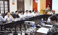 Diadakannya Konferensi online Kementerian Dalam Negeri .