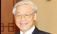 Sekjen KS PKV Nguyen Phu Trong memulai kunjungan  resmi di Kerajaan Belgia dan Uni Eropa