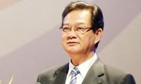 PM Vietnam, Nguyen Tan Dung mengakhiri aktivitas- aktivitas di KTT ASEAN ke -22