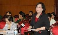 MN Vietnam melakukan  interpelasi terhadap Menteri Tenaga Kerja, Prajurit Penyandang Cacad dan Sosial