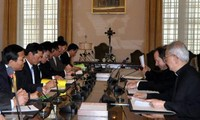 Pertemuan ke-4 Kelompok Kerja Gabungan Vietnam-Takhta Suci Vatikan berakhir.