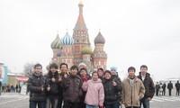Jumlah mahasiswa  Vietnam di Rusia terus meningkat