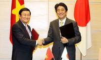 Media Internasional menilai tinggi hubungan kemitraan strategis Vietnam- Jepang
