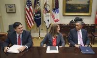 Pres. AS mendesak Kongres mengesahkan dana sebanyak USD 6 miliar untuk menanggulangi wabah Ebola