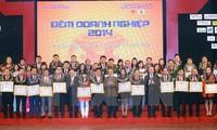 "Ketua MNVN Nguyen Sinh Hung menghadiri Program temu pergaulan ""Malam Badan Usaha 2014"""
