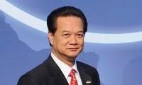 Komunike tentang kunjungan  yang akan dilakukan PM Vietnam Nguyen Tan Dung ke beberapa negara