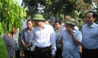 Deputi PM Vietnam Vu Van Ninh memeriksa pelaksanaan pembangunan pedesaan baru di propinsi Hung Yen