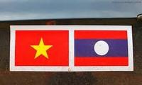 Sekjen, Presiden Laos menerima delegasi Departement Hubungan Luar Negeri Partai Komunis Vietnam