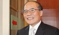 Ketua MN Vietnam, Nguyen Sinh Hung mengunjungi beberapa daerah di AS