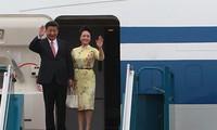 Kunjungan  bertujuan mendorong hubungan kemitraan strategis dan komprehensif Vietnam-Tiongkok
