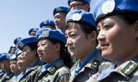 Vietnam dan Tiongkok berbagi pengalaman mengenai aktivitas menjaga perdamaian