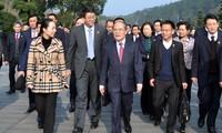 Ketua MN Vietnam, Nguyen Sinh Hung mengakhiri dengan baik kunjungan di Tiongkok