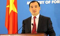 Vietnam memberikan reaksi terhadap masalah-masalah Internasional yang sedang mendapat perhatian opini umum