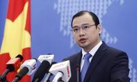 Vietnam memprotes kedatangan pemimpin Taiwan di pulau  Ba Binh, kepulauan Truong Sa, wilayah Vietnam