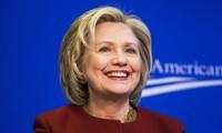 """Pemilu AS 2016: Ibu Hilarry Clinton resmi merebut kemenangan"""" yang sempit"""" di negara bagian Iowa"""