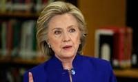 Hillary Clinton merebut kemenangan dalam pemilihan pendahuluan di negara bagian California Selatan