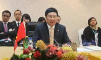 Deputi PM, Menlu Vietnam, Pham Binh Minh menghadiri Konferensi Terbatas Menlu ASEAN 2016