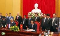 Pembicaraan antara Kementerian Keamanan Publik Rakyat Vietnam dan Kementerian Dalam Negeri Rusia
