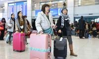 Vietnam  berada dalam 5 Besar  negara-negara yang mempunyai jumlah visa masuk Jepang
