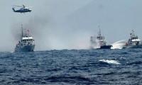 Jepang merasa cemas  akan sengketa wilayah dan wilayah laut antara Tiongkok dan negara-negara lain.