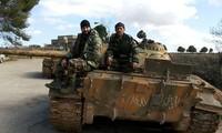 Tentara Suriah mencegah pasukan pembangkang  membuka lini bantuan ke kota Aleppo