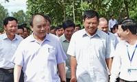 PM Vietnam, Nguyen Xuan Phuc mengunjungi kecamatan pedesaan baru Nam Giang, propinsi Nghe An