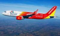Maskapai Vietjet membuka jalur penerbangan internasional Hanoi- Taipeh (Taiwan, Tiongkok)