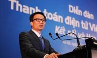 Deputi PM Vietnam, Vu Duc Dam menghadiri Forum Pembayaran Elektronik Vietnam-2016