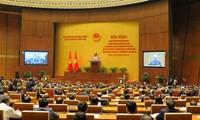 Konferensi mencengkam Resolusi Sidang Pleno ke-4 KS PKV (angkatan XII) berlangsung di kota Hanoi