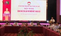 Konferensi  ke -11 Presidium Pengurus Besar Front Tanah Air Vietnam angkatan  VIII