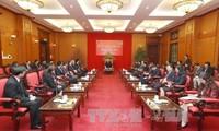 Sekjen KS PKV, Nguyen Phu Trong menerima Kepala Perwakilan Diplomatik negara-negara ASEAN
