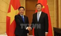 Mendorong hubungan kemitraan dan kerjasama strategis komprehensif Vietnam- Tiongkok