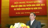 В Ханое подведены итоги просветительно-пропагандистской работы страны в 2013 году