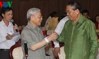 Генсек ЦК КПВ посетил Лаос и поздравил лаосский народ с новогодним праздником