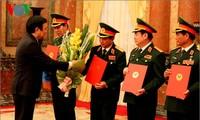 Президент СРВ Чыонг Тан Шанг присвоил высшим офицерам воинские звания генерал-полковника