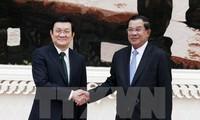 Поднятие вьетнамо-камбоджийских отношений на новую высоту