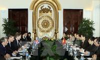 В Ханое прошел четвертый вьетнамо-британский стратегический диалог