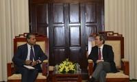 Глава Госбанка СРВ принял директора представительства МВФ во Вьетнаме