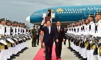 Премьер-министр Вьетнама Нгуен Тан Зунг прибыл в Куала-Лумпур
