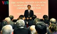Нгуен Тан Зунг встретился с представительями вьетнамской диаспоры во Франции
