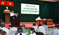 Чыонг Тан Шанг и Нгуен Тан Зунг встретились с избирателями Хошимина и Хайфона