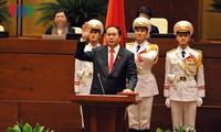 Присяга новых руководителей Вьетнама и решимость предпринять действия