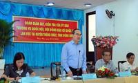 Контрольно-надзорная группа ПК НС СРВ и НИС провела рабочую встречу с ИК города Вунгтау
