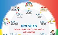 Местные власти внесли вклад в повышение конкурентоспособности провинции Донгтхап в 2015 году