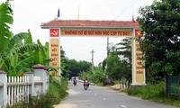 Уезд Хоаванг города Дананг досрочно завершил строительство новой деревни