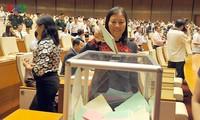 Избиратели Вьетнама выразили веру в важные решения, принятные на 1-й сессии НС СРВ
